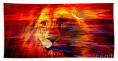 King Of Glory Beach Towel