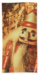 King Of The Toy Cabinet Beach Towel