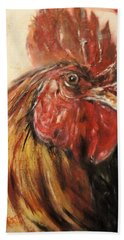 King Rooster Beach Towel