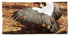 King Vulture 3 Strutting Beach Sheet by Chris Flees