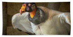 King Vulture Beach Sheet by Jamie Pham