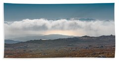 Beach Towel featuring the photograph Kingdom In The Sky by Gary Eason