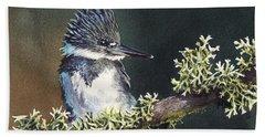 Kingfisher II Beach Towel