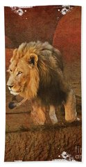 King_of_thejungle Beach Towel
