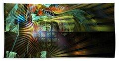 Beach Towel featuring the digital art Kings Ransom by NirvanaBlues