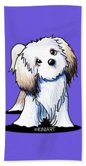 Kiniart Lhasa Apso Beach Towel