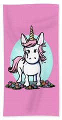 Kiniart Unicorn Sparkle Beach Towel