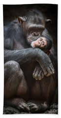 Kiss From Mom Beach Towel by Jamie Pham