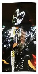 Kiss Gene Beach Towel