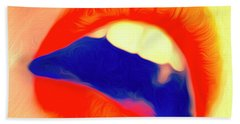Kiss Me- Beach Towel