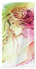 Kiss Of Wind Beach Sheet