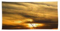 Kissimmee Prairie 005 Beach Towel by Chris Mercer