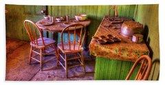 Kitchen Table Bodie California Beach Towel