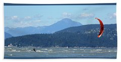 Kite Surfer Beach Towel