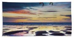 Kite Surfing, Widemouth Bay, Cornwall Beach Towel