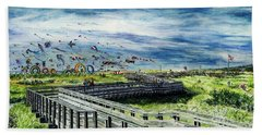 Kites Galore Beach Towel