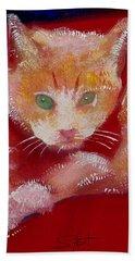 Kitten Beach Towel