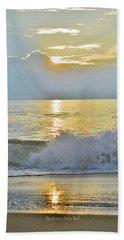 Kitty Hawk Sunrise 8/20 Beach Towel