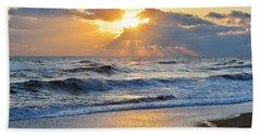 Kitty Hawk Sunrise Beach Towel