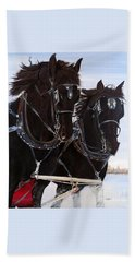 Knights On Four Beach Towel