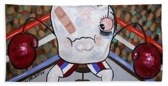 Knocked Out Tooth Beach Towel