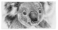 Koala Newport Bridge Gloria Beach Towel by Remrov
