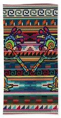 Kokopelli Art Beach Sheet
