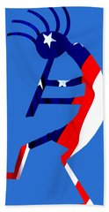 Kokopelli - Patriotic Beach Sheet