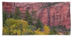 Kolob Canyon Colors Beach Sheet