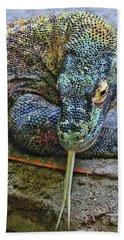Komodo Dragon # 2 Beach Towel