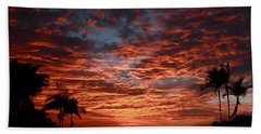 Kona Fire Sky Beach Towel