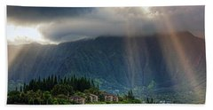 Koolau Sun Rays Beach Towel