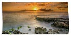 Koolina Sunset At The Cove Beach Towel