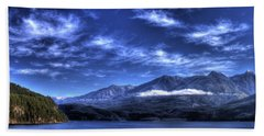 Kootenai Lake From Kaslo Beach Towel