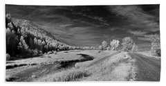 Kootenai Wildlife Refuge In Infrared 2 Beach Towel