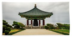 Korean Bell Of Friendship Beach Towel