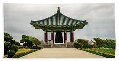 Korean Bell Of Friendship Beach Sheet