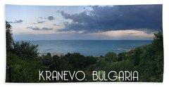 Kranevo Bulgaria Beach Towel