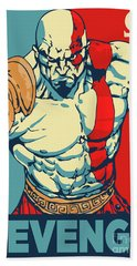 Kratos Revenge Beach Towel
