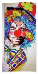 Kristoff The Creepy Clown Beach Sheet