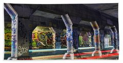 Krog Street Tunnel Beach Towel