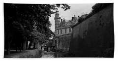 Kronborg Castle Is Hamlets Castle Beach Towel