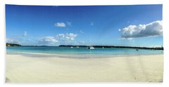 Kuto Bay Morning Pano Beach Sheet