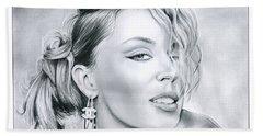 Kylie Minogue Beach Towel