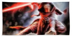 Kylo Ren I Will Fulfill Our Destiny Beach Towel