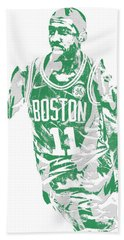 Kyrie Irving Boston Celtics Pixel Art 6 Beach Towel