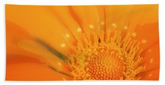 La Fleur D'orange Beach Towel