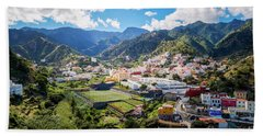 Beach Towel featuring the photograph La Gomera by Juergen Klust