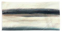 La Jolla #1 Seascape Landscape Original Fine Art Acrylic On Canvas Beach Towel