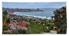 La Jolla Shoreline Beach Towel